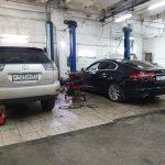 Ремонт выхлопной системы Land Rover и Jaguar